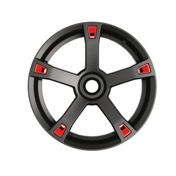 Wheel Accents - Adrenaline Red