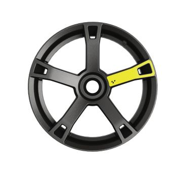 Wheel Decals - Electric Yellow