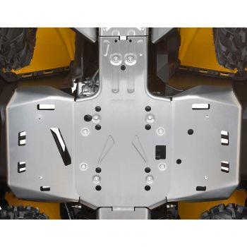 Midtre chassisbeskyttelseplate