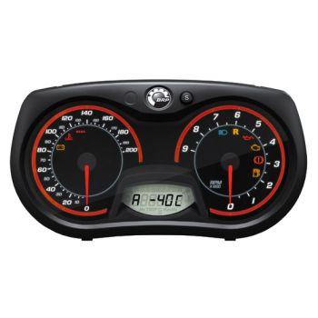 Temperaturmodull for utendørs og motor