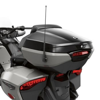 Top Case with integrated Passenger Backrest