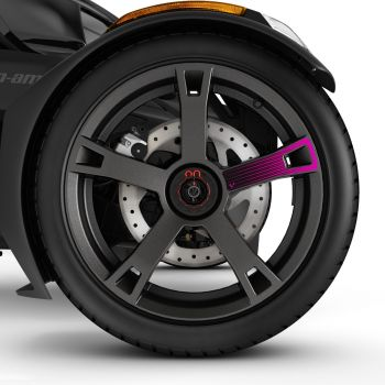 Wheel Decals - Pink Punk