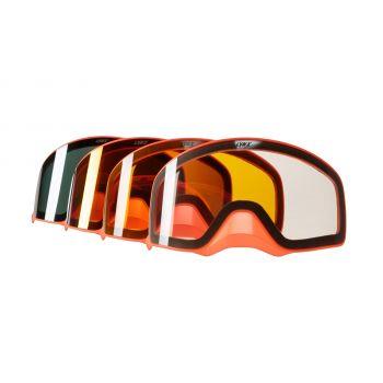 Erstattningslinser For Lynx Radien 2.0 Briller, Orange Innfating