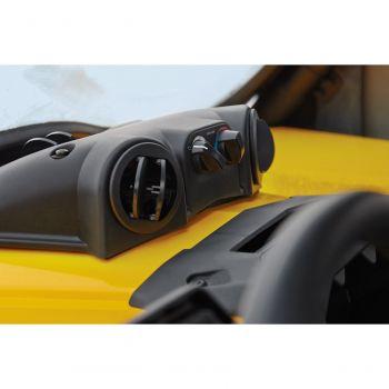 Defrost-, varme- og ventilasjonssystem
