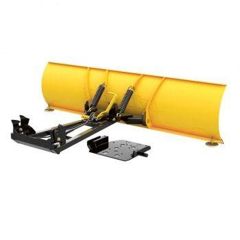 Can-Am ProMount plogsett i stål - 168 cm BLAD (gul)